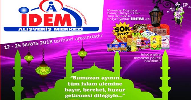İDEM'de 'Gümbür gümbür ramazan indirimi'