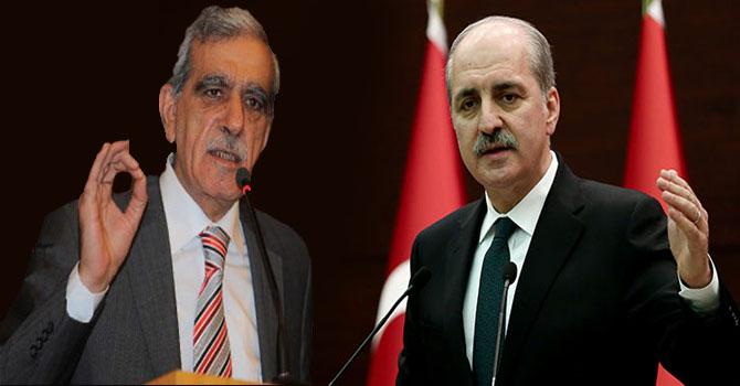 Türk: Çözüm için hazırız  Kurtulmuş: Malesef çok geç olmuştur