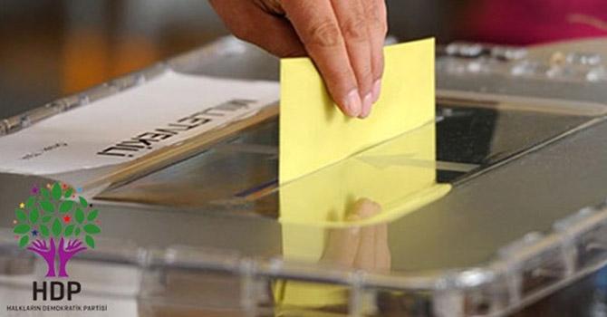 HDP Hakkari seçim komisyonundan çağrı