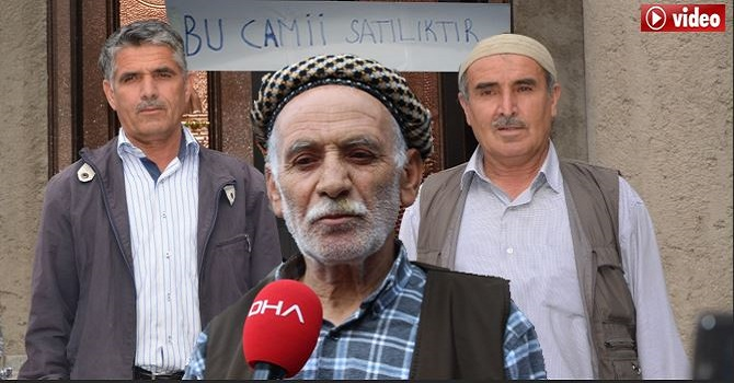 Hakkari'de inşaatı bitmeyen Camiye destek gelmeyince satışa çıkardılar