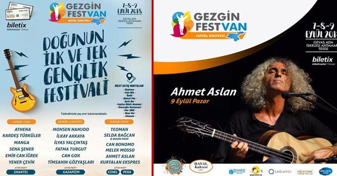 Van'da Gençlik Festivali düzenlenecek!