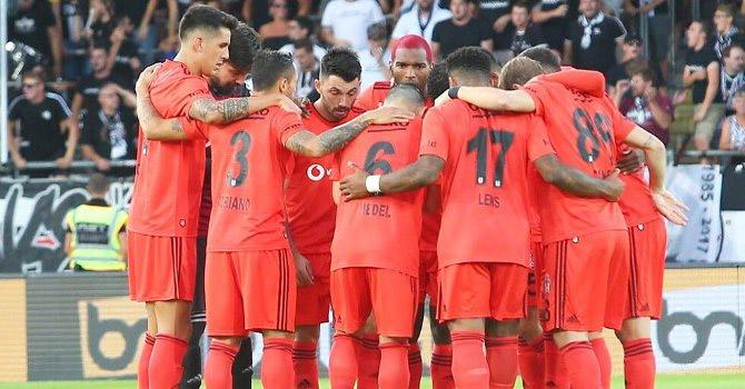 Beşiktaş 90'ncı dakikada güldü!