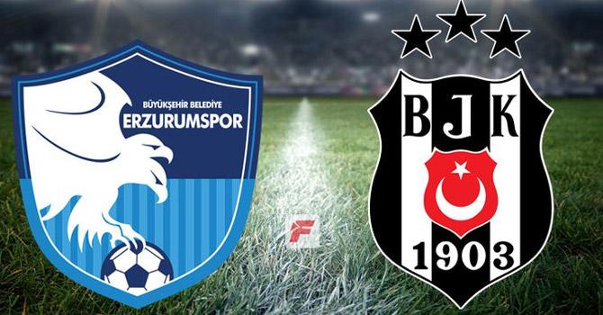 Beşiktaş Erzurumspor'u 3-1 yendi!