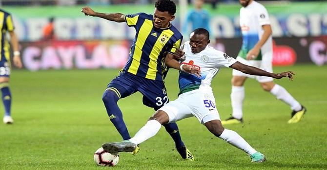 Çaykur Rizespor: 3 - Fenerbahçe: 0