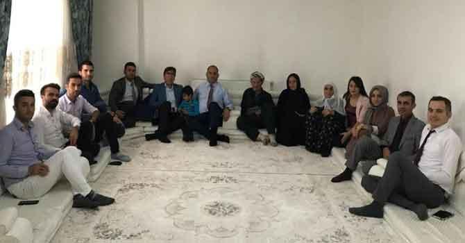 Müdür Salih Kaya'nın Şemdinli ziyaretleri