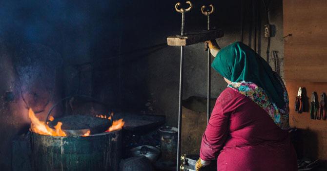 """""""Doğudan Kadın Portreleri"""" sergisi açıldı"""
