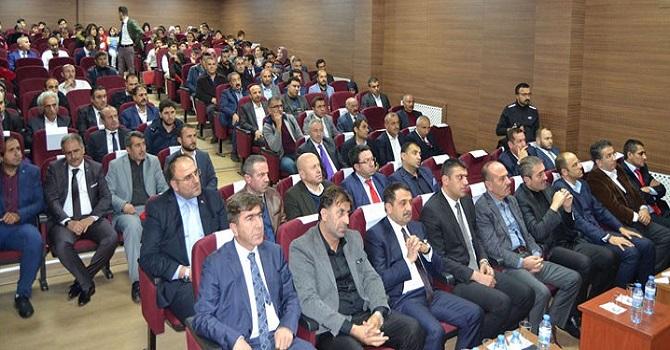 Ahmet Budak adına Yüksekova'da Konferans Salonu açıldı