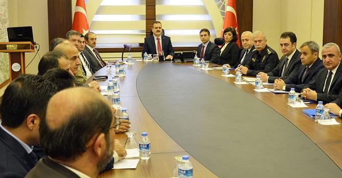 Hakkari'de Uyuşturucu Koordinasyon Kurulu Toplantısı