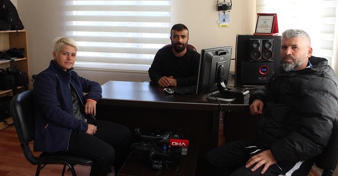 Demirtaş'tan Haber merkezimize ziyaret!