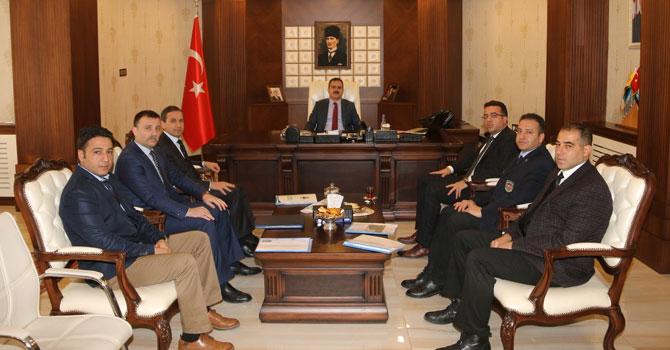 Gümrük ve Ticaret Bölge Müdüründen Vali Akbıyık'a ziyaret!