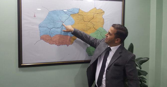 Genç aday adayı Ertunç, projelerini anlattı!