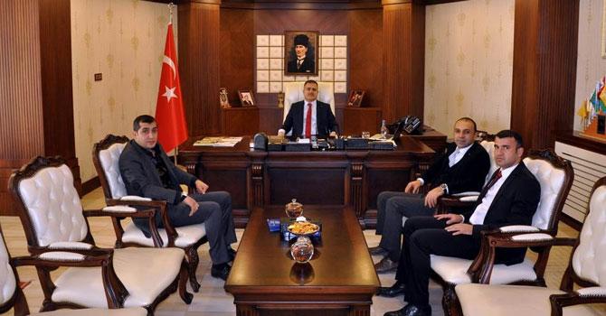 Vali İdris Akbıyık'a ziyaretler devam ediyor