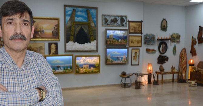 40 yılda 5 sergi açtı 1 tane resim satamadı