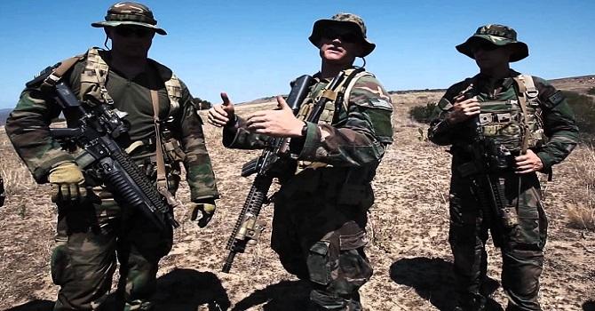 ABD'li özel harekâtçılar  Rusya sınırında görüntülendi