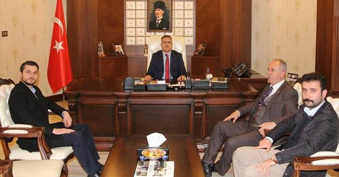 Hakkari Valisi Akbıyık'a ziyaretler devam ediyor!