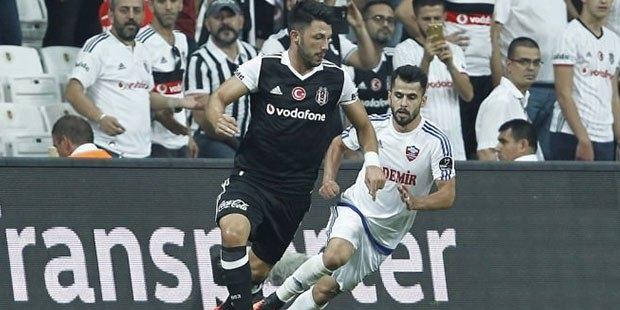 Beşiktaş'a şampiyonluk yarışında darbe