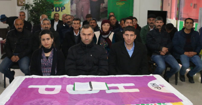 Hakkari HDP'den gözaltılara  tepki