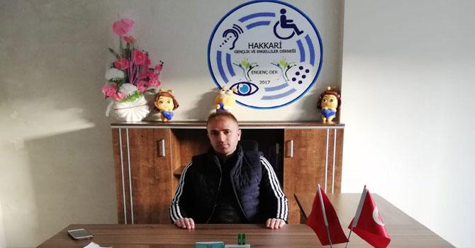 Engelliler Dernek Başkanı Aydoğdu'dan teşekkür