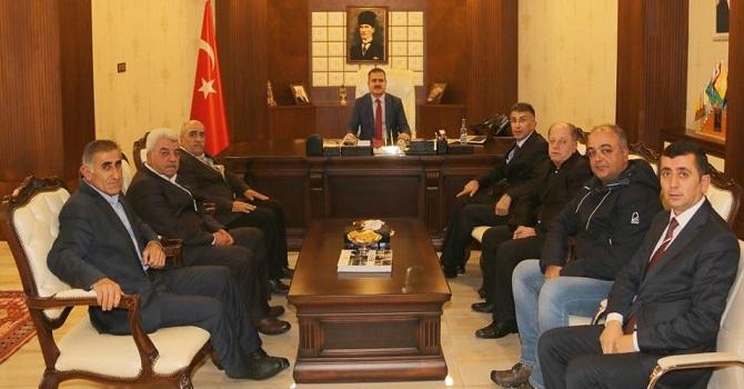 TÜRK-İŞ'ten Akbıyık ve Epçim'e ziyaret