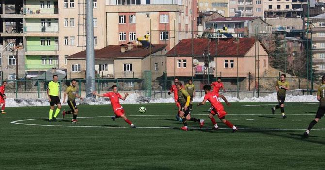 Hakkari Sportif Faaliyetler Hakkarispor'u 2-1 yendi