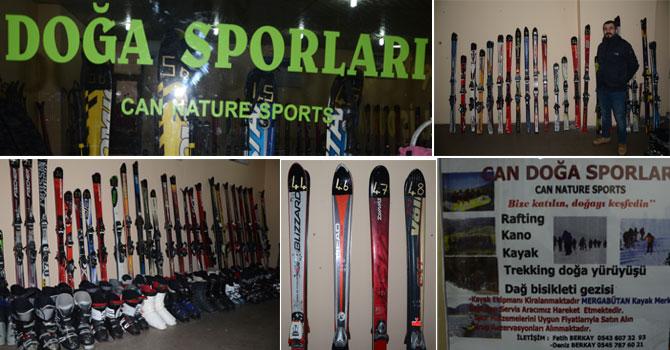Hakkari'de kayak satış ve kiralama merkezi açıldı