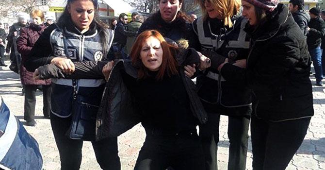 KHK protestosuna müdahale: 31 gözaltı