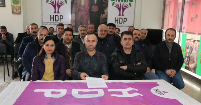 Hakkari HDP'den Leyla Güven açıklaması