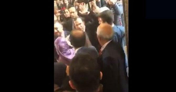 AK Partili Salih Cora'dan HDP vekiline yumruk VİDEO