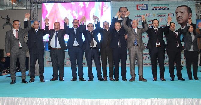 Hakkari'de Ak Parti'nin Aday tanıtım toplantısı FOTO GALERİ