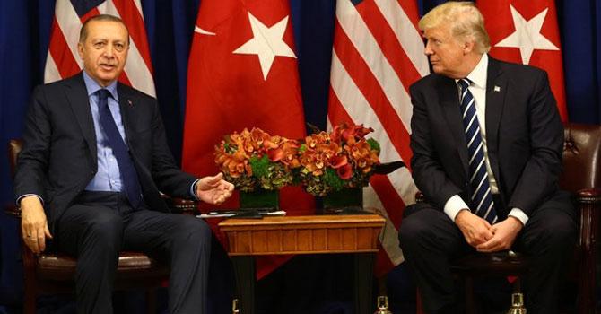 Trump ve Erdoğan bir kez daha telefonla görüştü