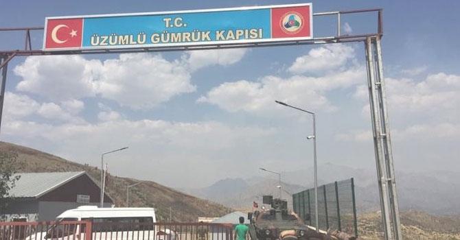 Çukurca'daki Üzümlü sınır kapısı kapatıldı!