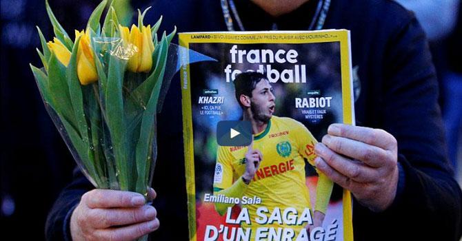 Kaybolan futbolcu Sala'nın son mesajı