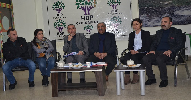 HDP'den Epçim'e belediye borçları yanıtı!