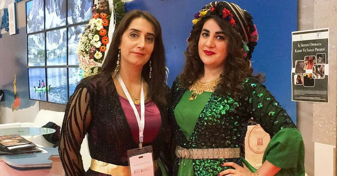 Hakkarili Kadınlar EMİT fuarında!