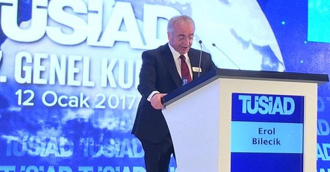 TÜSİAD Başkanı'ndan referandum için oy açıklaması