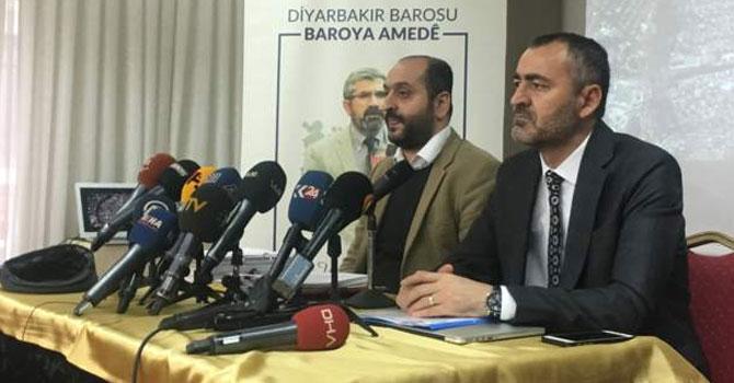Diyarbakır Barosu'ndan Tahir Elçi açıklaması