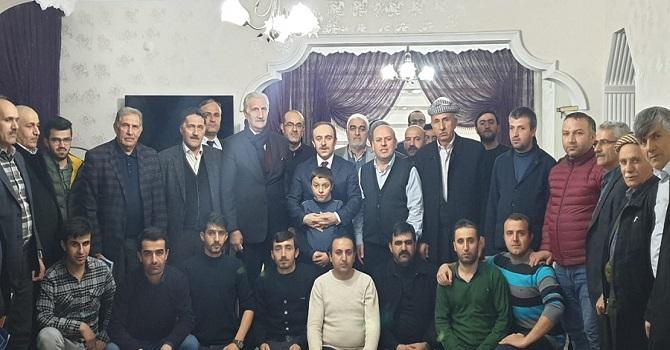 Belediye başkan adayı Epcim'den Er ailesine ziyaret