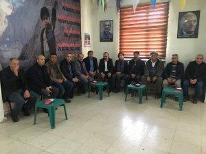 DİSK'ten Eşbaşkan adaylarına destek ziyareti