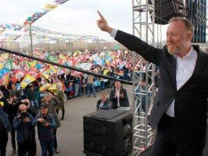 HDP'li Temelli Batman mitinginde konuştu