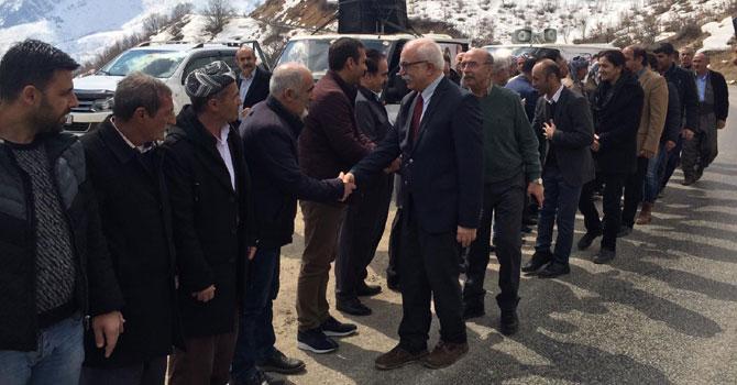 HDP Şemdinli'de seçim çalışmalarına devam ediyor!