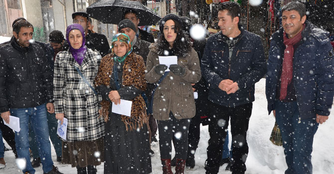 HDP ve DBP'den referandum toplantısına davet