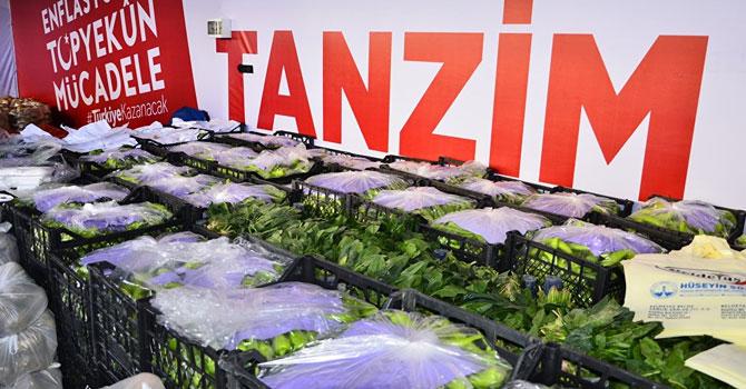 Ankara Sincan'da tanzim satış çadırları kaldırılıyor