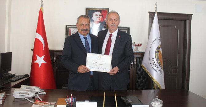 Başkan Demirci Keskin'den görevi devraldı