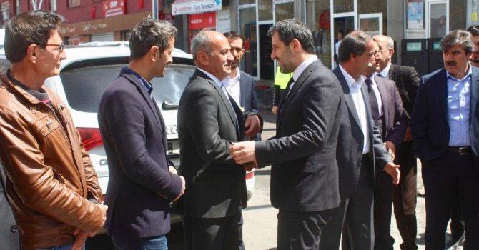 Ak Parti ve MHP'den Çukurca'ya ziyaret!