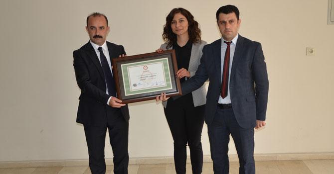 Eşbaşkan Cihan Kahraman mazbatasını aldı VİDEO FOTO GALERİ