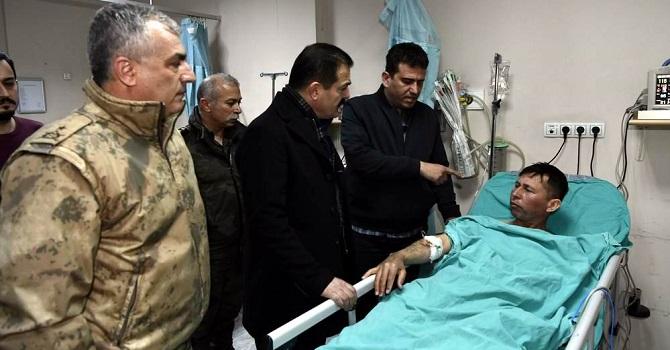 Çukurca'da askeri üs bölgesine saldırı: 2 yaralı