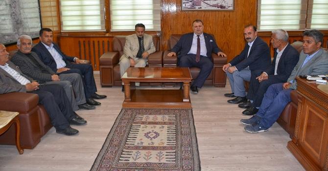 CHP'den Eşbaşkan Karaman'a tebrik ziyareti