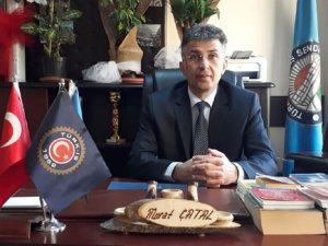Türk İş Hakkari Temsilcisi Murat Çatal'dan yeni yıl mesajı