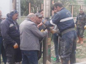 Yüksekova'da arızalanan 14 nolu sondaj onarıldı