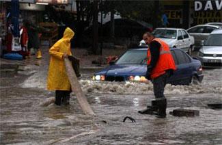 Ankara'daki su baskını ve selde 3 kişi hayatını kaybetti